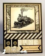 France Martin: Stamp & Scrap with Frenchie by Team Member Lisa F. - 7/28/14
