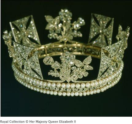 The Diamond Diadem, British Crown Jewels
