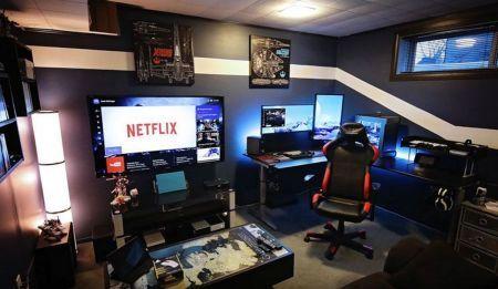 Best Video Game Room Ideas Cool Gaming ☼ Via ...