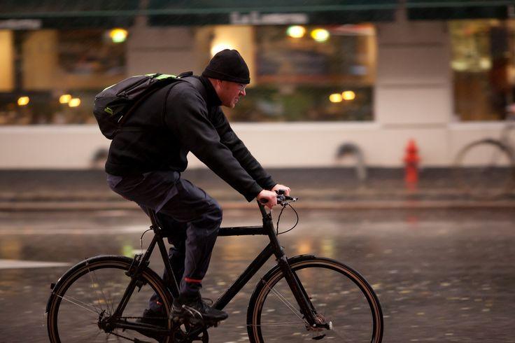 https://flic.kr/p/aPKQWV | Copenhagen Bikehaven by Mellbin - Bike Cycle Bicycle - 2011 - 0448 | Even heavy rain can be braved in style.