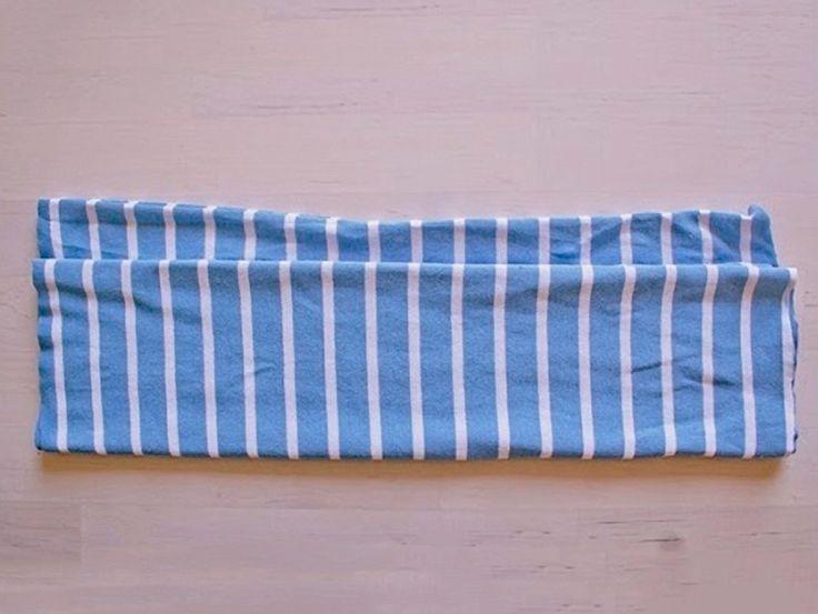 Tutorial fai da te: Come fare un gomitolo fettuccia da una maglietta via DaWanda.com