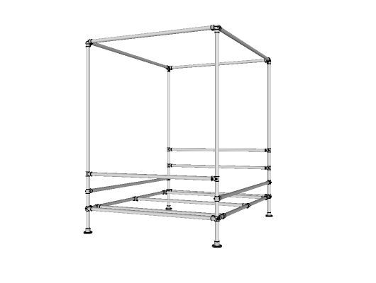 Canopy Bed - Project - Simplified Building
