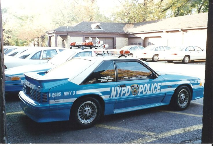 nypd NYPD GT still exists??? Special Service Mustang