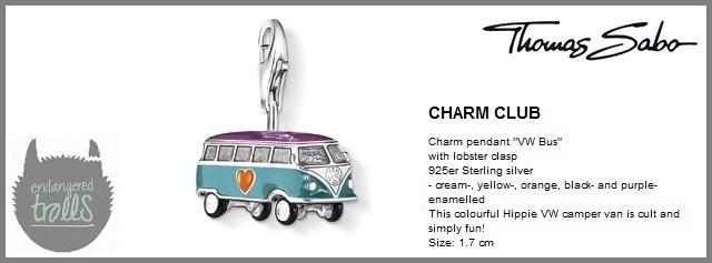 Thomas Sabo Fall 2012 - The Charm Club - VW Camper - http://www.endangeredtrolls.com/thomas-sabo-fall-2012-charms-2/#