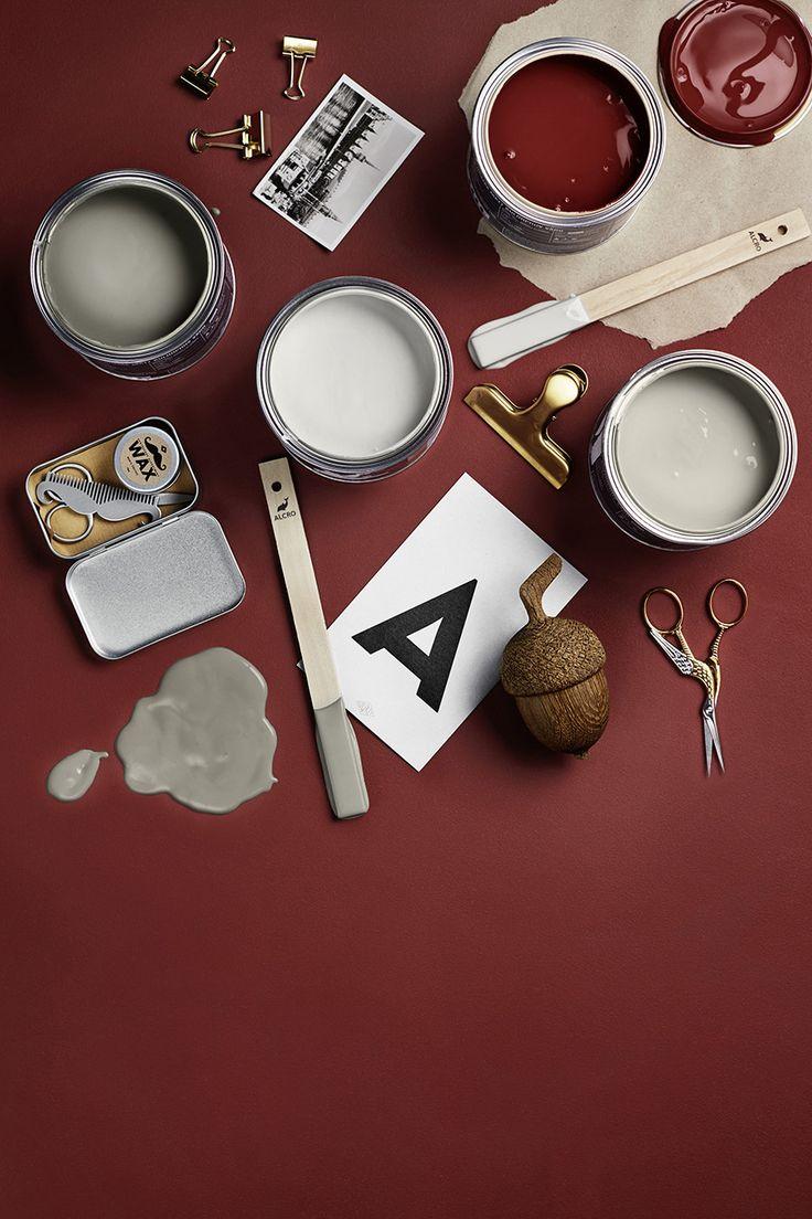 Nu lanserar Alcro och inredningsbutiken Grandpa en ny färgkollektion. Kollektionen består av fyra utvalda kulörer och är baserad på färger som Grandpa redan använder i sina butiker.