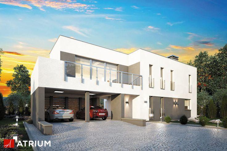 Projekt Magnus - elewacja domu