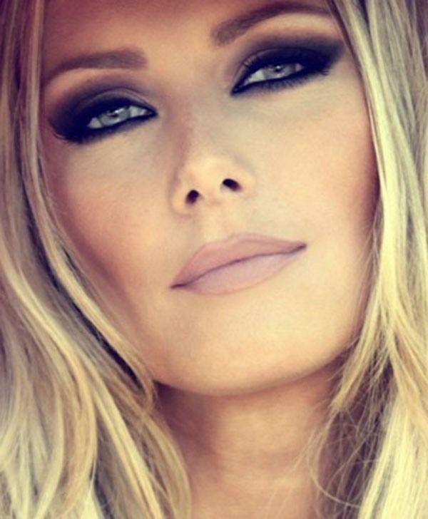 makeup for green eyes blonde hair makeup pinterest. Black Bedroom Furniture Sets. Home Design Ideas