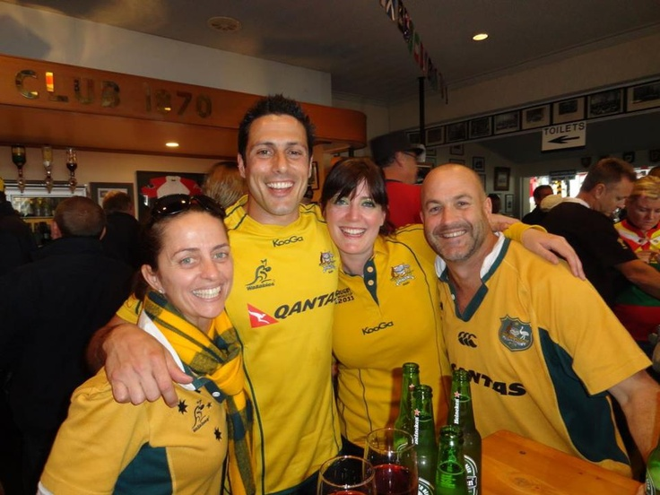 Rugby World Cup 2011 = Happy happy times