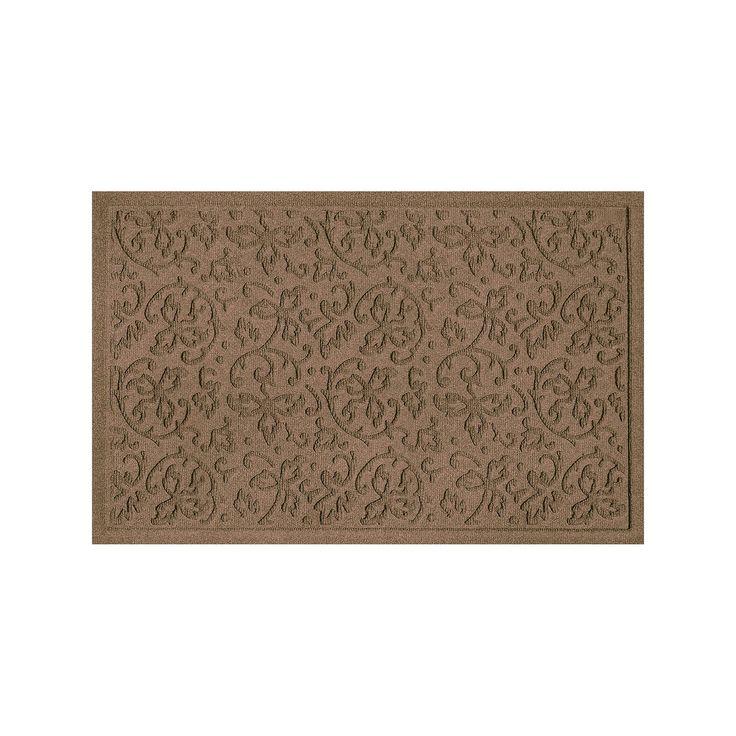 WaterGuard Halcyon Indoor Outdoor Mat, Brown