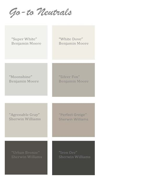 Pick the perfect neutral paint for the home pinterest for Whole house neutral paint colors