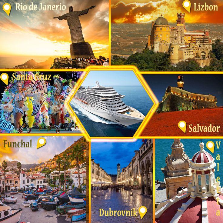 Kasım'da Aşk Başkadır ! 21 Gün Gemi Seyahati İle Aşkınızı Tazeleyin. Hırvatistan, Malta, Portekiz, İspanya, Brezilya Deluxe Gemilerimizde Konforun, Hizmetin Tadını Çıkarın. Son Derece Güvenli, Sarsıntısız Bir Yolculuk. Bavul Toplamadan, Telaş Yapmadan 5 Ülke, 8 Şehir. 5 Kasım'da Gemi Kalkıyor....  http://outgoing.turaturizm.com/index/detay/83/1311/12342/11/14/msc-presioza-transatlantik-rio/