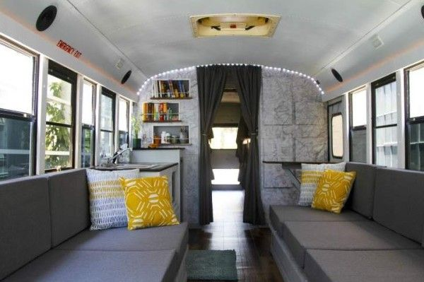 8 Students School Bus Conversion 0034  FOR SALE: Hit the road on converted school bus, SERENDIPITIBUS...