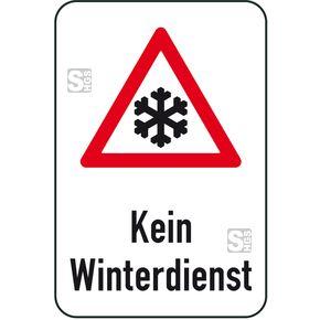 Winterschilder weisen auf besondere Gefahren in dieser Jahreszeit hin  #Dachlawinen #Räumdienst #Räumpflicht #Streupflicht #Verkehrszeichen #Winterdienst #Winterschild #Winterverkehrszeichen