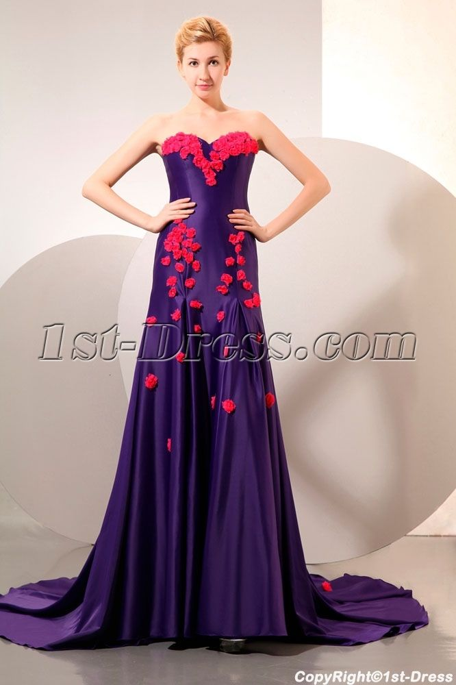 9 best Mystic Eggplant Prom Dresses ,Evening Gowns images on ...