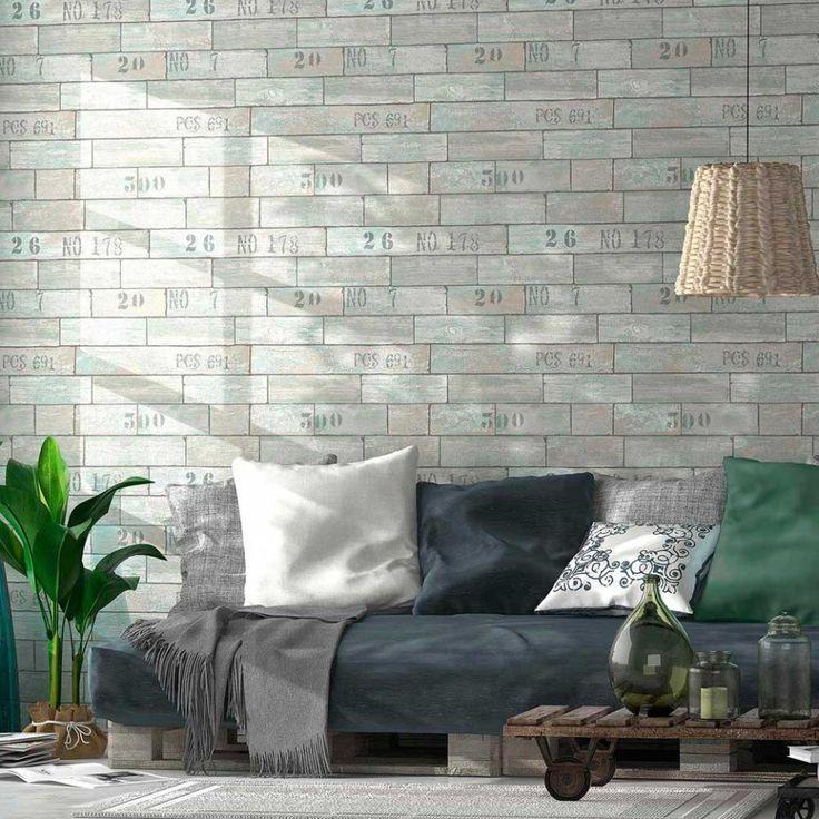 M s de 1000 ideas sobre madera gris en pinterest pisos - Papel pintado imitacion madera ...