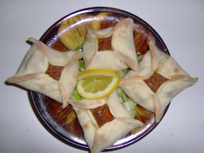 Sfiha Ramadan cuisine