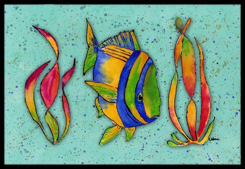 Tropical Fish Doormat