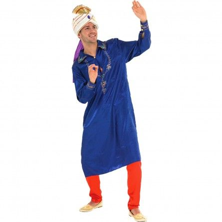 Mens Blue Bollywood Costume