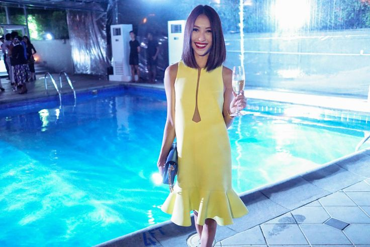 PEGGY HARTANTO SS15 Emerald of GEM as seen on Melissa Koh, Singaporean based fashion blogger