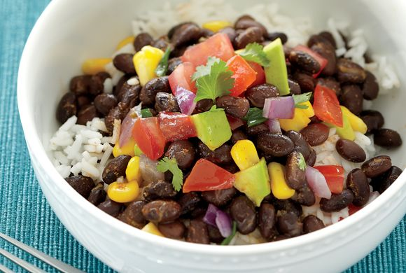 Black Bean Rice Bowl