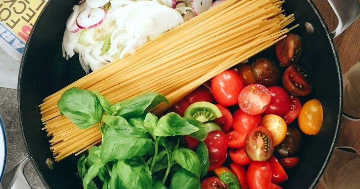 Ogillar du att diska? Då är one pot pasta rätten för dig! Allt lagas i en kastrull.