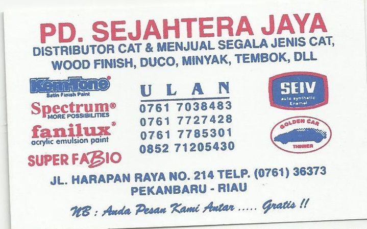 PD Sejahtera Jaya