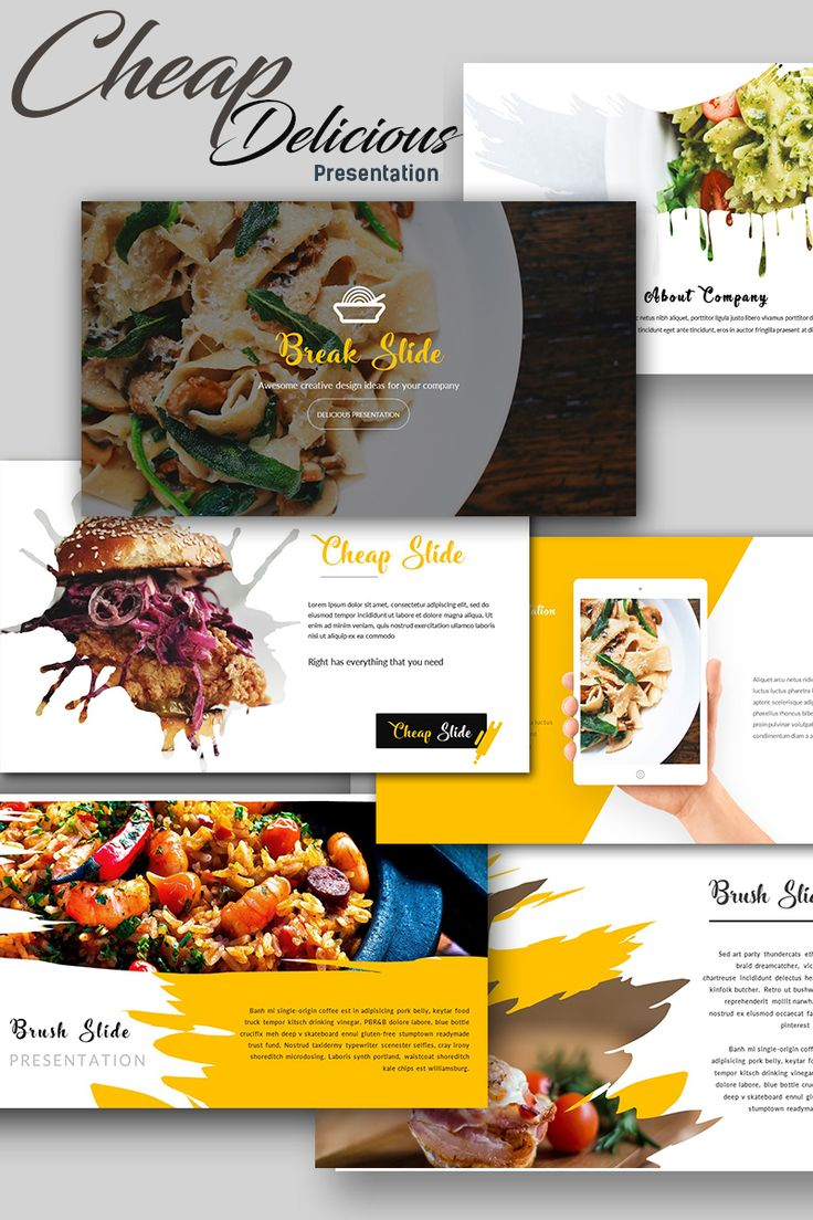 Download Premium Presentation Template with Slidemaster, perfect for Restaurant, cafe, hotel, Business, Corporate Presentation and personal use.  #keynote #restaurant #cafe #business #presentation   https://www.templatemonster.com/keynote-templates/cheap-delicious-presentation-keynote-template-67702.html
