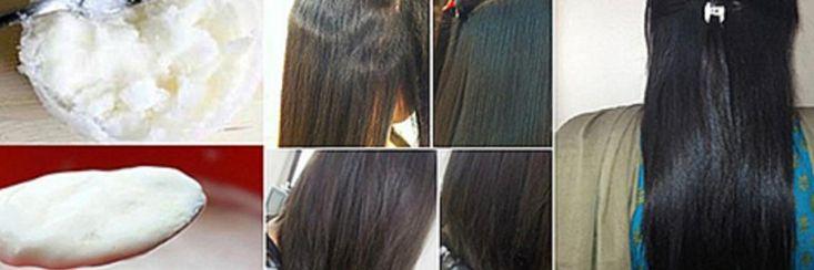 Maak een natuurlijk permanent voor glanzend steil haar