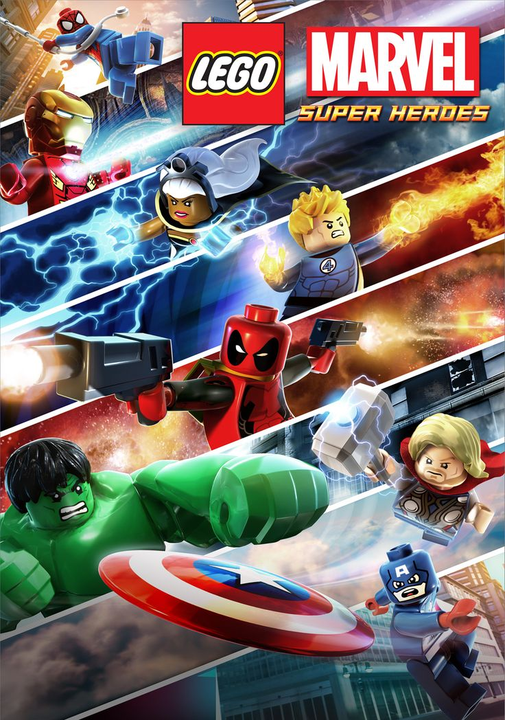 Lego: Marvel Superhero's ~ I'm not sure that Lego could get more awesome... unless they go and do Marvel vs DC. Making my way through this game and loving it! Though I had to stop as I got Reed Richards aka Mr Fantastic stuck behind some ladders...