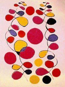 A la manière d'Alexander Calder (Graphisme : les boucles) GS