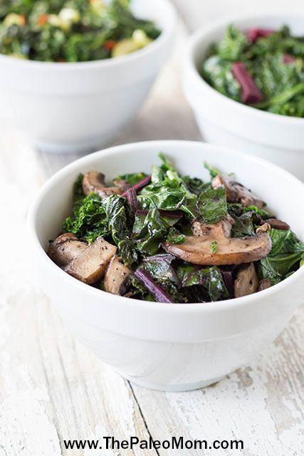 Braised Kale Three Ways | www.ThePaleoMom.com #Paleo #kale #fiber