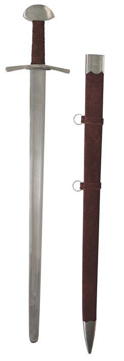 Schaukampfschwert+mit+Wildlederscheide
