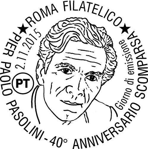 Annullo Speciale in occasione del 40° anniversario della scomparsa di Pierpaolo Pasolini