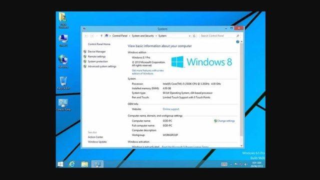 Windows 8 1 Download Free Full Version 32 64 Bit Iso Filehorse In 2020 Basic Software Windows Defender Windows