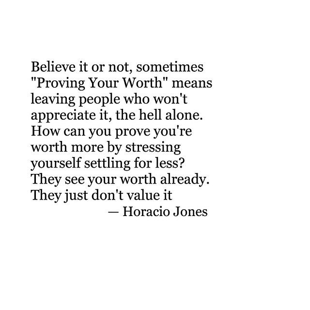 they just don't value it.
