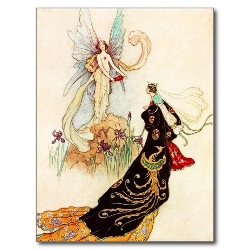 Het boek van de Fee: De vlinder Wenskaart