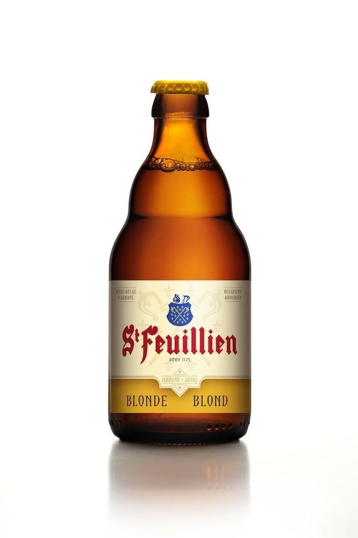 St Feuillien blonde Belgian Beers