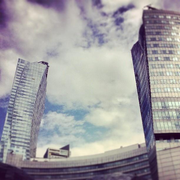 Found on Starpin. #Warsaw #zlotetarasy #architecture #skyscraper