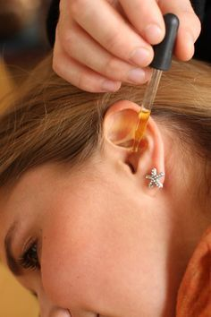 homeade earache remedy - tea tree oil ear drops