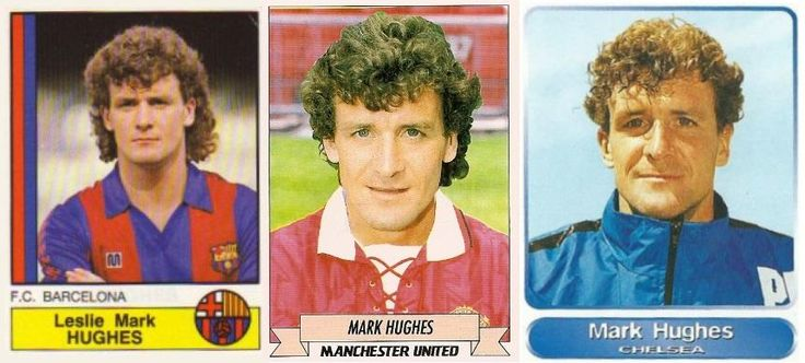 Mark Hughes of Barcelona, Man United and Chelsea