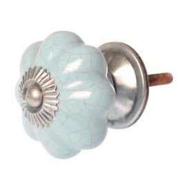 Blue Ceramic Flower Drawer Pull £4.50