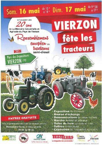 Vierzon fête les tracteurs