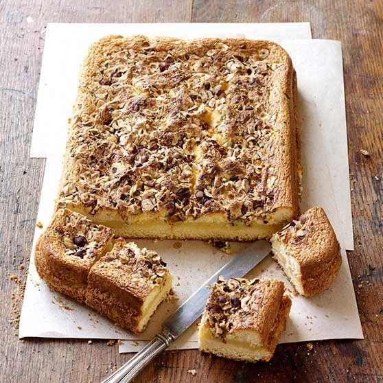 Saftig vaniljekake i langpanne - Oppskrifter