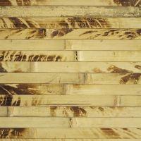 Бамбуковое полотно из внешней части ствола бамбука