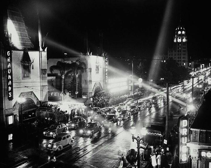 Grauman's Chinese Theater  1939