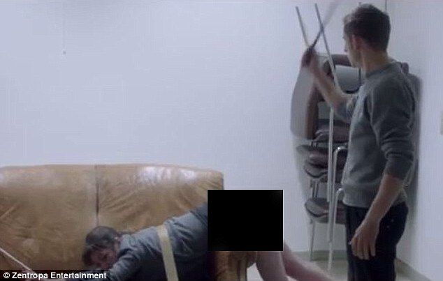 Jamie Bell Holds A Whip In The Latest Clip From