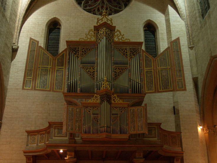 Órgano de la Iglesia de los Agustinos en Toulouse. Francia.