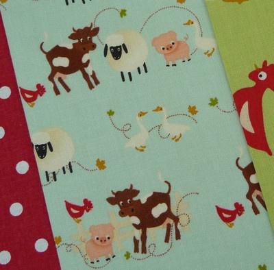 Riley farm fabric   £6.70 for 1/2 metre + p £1.20
