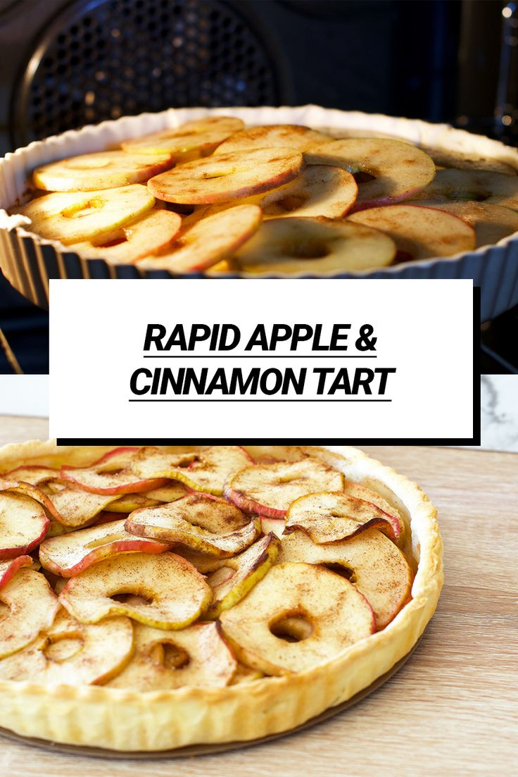 This recipe only takes 10 minutes of prep to make a delicious apple and cinnamon puff pastry tart, with fresh lemon and…