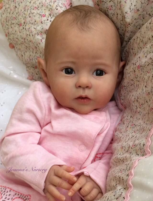 Joanna's Nursery ~ ADORABLE~  Reborn Baby GIRL doll ~ RAVEN by PING LAU ~